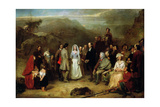 Marriage of the Covenanter Giclee Print by Alexander Johnston