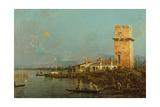La Torre Di Malghera Giclee Print by  Canaletto