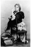 Rejane (1857-1920) as Catherine the Laundress in 'Madame Sans-Gene' by Victorien Sardou… Photographic Print by  Reutlinger Studio