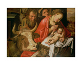 The Adoration of the Shepherds Giclee Print by Pieter Aertsen