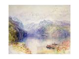 Brunnen Giclee Print by J. M. W. Turner