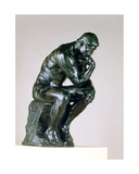 The Thinker, 1880-81 Giclee Print by Auguste Rodin