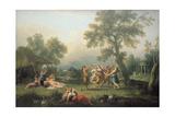 Le Lever De La Coquette', C.1840 Giclee Print by Eugene Deveria