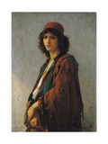 Young Bohemian Serb, 1872 Giclee Print by Charles Landelle