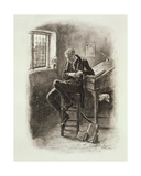 Uriah Heep, from 'Charles Dickens: a Gossip About His Life', by Thomas Archer, Published C.1894 Giclee Print by Frederick Barnard