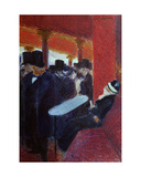 At the Folies Bergere Giclee Print by Jean Louis Forain