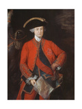 Lord Robert Clive (1725-74) in General Officer's Uniform, C.1764 Giclee Print by Thomas Gainsborough