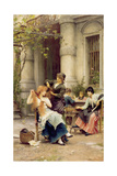 An Al Fresco Toilette, 1889 Giclee Print by Sir Samuel Luke Fildes