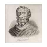 Herodotus of Halicarnassus Giclee Print by J.W. Cook