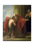 The Return of the Prodigal Son, 1772 Giclee Print by Benjamin West