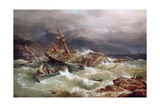 The Rescue Giclee Print by Richard Bridges Beechey