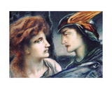 Mercury and Persephone Giclee Print by Simeon Solomon