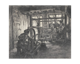 The Weaver's Workshop at Dinan Or, the Weaver and His Wife, 1893 Giclee Print by Leon Augustin Lhermitte
