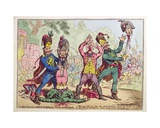 The High German Method of Destroying Vermin at Rat-Stadt, Published by Hannah Humphrey in 1799 Giclee Print by James Gillray