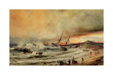 The Shipwreck, 1832 Giclee Print by Jean Antoine Theodore Gudin