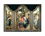 Triptych Depicting the Adoration of the Magi, C.1600 Giclee Print by Pieter Coecke van Aelst