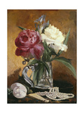 Peonies, 1862 Giclee Print by Edouard Manet