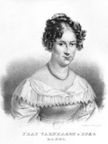 Portrait of Rahel Varnhagen Von Ense (1771-1833) Born Levin, Engraved by Gottfried Kustner… Photographic Print by Moritz Michael Daffinger