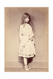 Xie Standing, C.1875 Giclee Print by Lewis Carroll