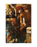 The Martyrdom of St. Matthew, 1617 Giclée-Druck von Claude Vignon