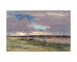 The Coming Storm: Early Spring, 1874 Giclee Print by Charles Francois Daubigny