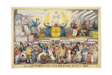 The End of the Lottery, 1826 Giclee Print by Robert Cruickshank