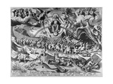 The Last Judgement, Engraved by Pieter Van Der Heyden, 1558 Giclee Print by Pieter Bruegel the Elder