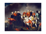 The Burial of General Simon Fraser (1729-77) after the Battle of Saratoga in 1777, C.1800 Giclee Print by John Graham