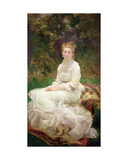 The Woman in White, C.1880 Giclee Print by Marie Bracquemond