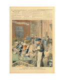 The Charity of the Students: the Soup Kitchen at Butte-Aux-Cailles, from 'Le Petit Journal', 5th… Giclee Print by Oswaldo Tofani