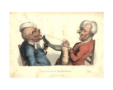 Laughter and Experiment, from 'The Passions Humourously Delineated', Published 1810 Giclee Print by John Collier