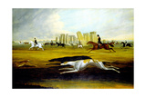The Pinckney Family Coursing at Stonehenge, 1845 Giclee Print by Samuel Spode