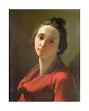 Portrait of Giovanna Spisani, the Artist's Wife Giclee Print by Gaetano Gandolfi