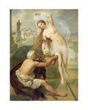 Fortuna and Beggar, 1836 Giclee Print by Alexei Tarasovich Markov