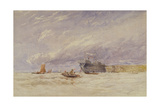 On the Medway, C.1845-50 Giclee Print by David Cox