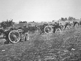 Battery D., 2nd Us Artillery Federal Army in Action During the American Civil War (1861-65) Photographic Print by Alexander Gardner