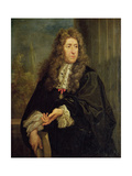 Portrait of Andre Le Notre (1613-1700) Giclée-tryk af Carlo Maratta