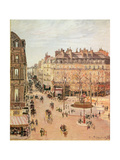 Rue Saint-Honore, Sun Effect, Afternoon, 1898 Giclee Print by Camille Pissarro