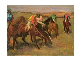 Before the Races, C.1882 Giclee Print by Edgar Degas