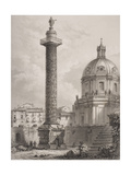 Trajan's Column, Rome, Engraved by A. Willmore Giclee Print by Giovanni Battista Piranesi