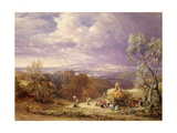 Harvesting Giclee Print by Samuel Palmer