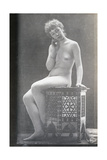 Seated Nude Giclee Print by Edward Linley Sambourne