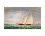 Schooner Yacht Off Ryde, Isle of Wight Giclee Print by Charles Taylor