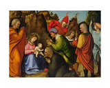 The Adoration of the Magi Giclee Print by Giovanni Agostino Da Lodi