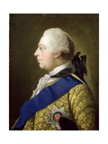 Portrait of George III (1738-1820) Giclee Print by Johann Zoffany