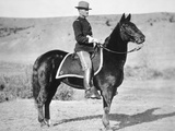 2nd Lieutenant John J. Pershing (1860-1948) 6th Us Cavalry Regiment, 1887 Photographic Print