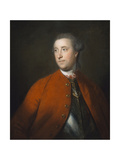 Colonel the Honourable John Barrington (D.1764) C.1758 Giclee Print by Sir Joshua Reynolds