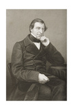 Frederick Thesiger (1794-1878) 1st Lord Chelmsford, Engraved by D.J. Pound from a Photograph,… Giclee Print by John Jabez Edwin Paisley Mayall