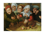 A Merry Company, C.1557 Giclee Print by Jan Massys or Metsys
