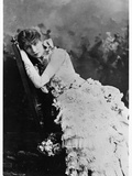 Sarah Bernhardt (1844-1923) as Marguerite Gautier in 'La Dame Aux Camelias' by Alexandre Dumas… Photographic Print by Napoleon Sarony